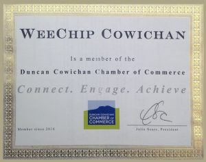 Member of the Chamber of Commerce